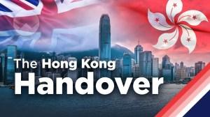 The Hong Kong Handover