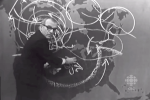 Weatherman Percy Saltzman Chalk Forecast 1967
