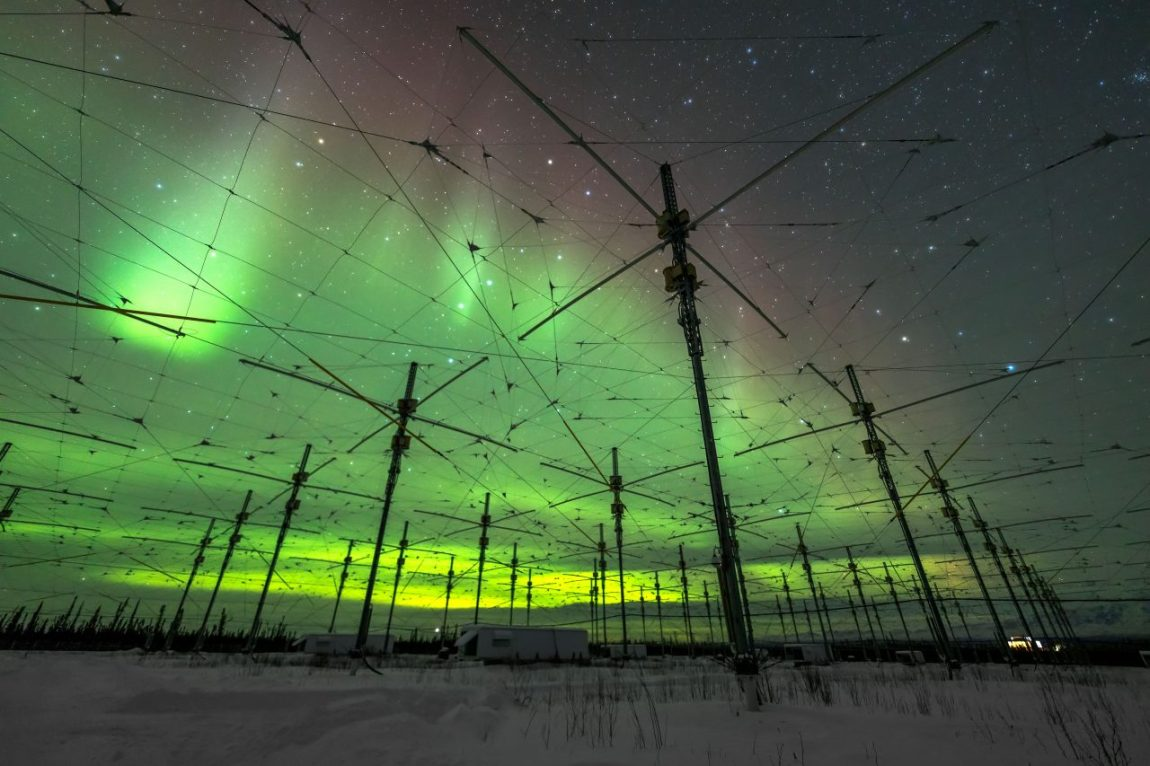 Skyglowproject.com: Haarp Borealis