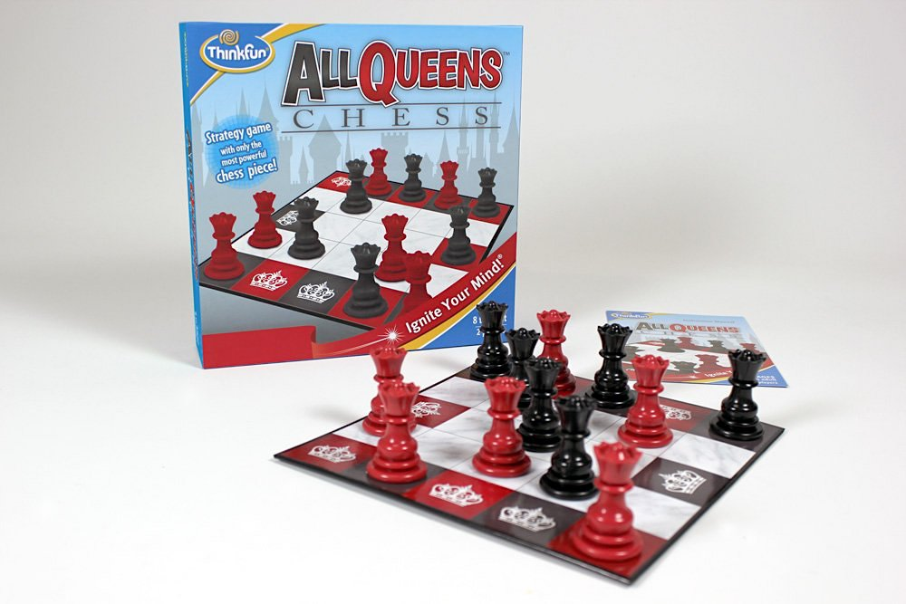All Queens Chess Set