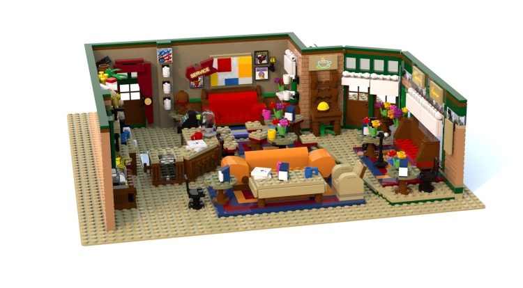 Central Perk Friends LEGO