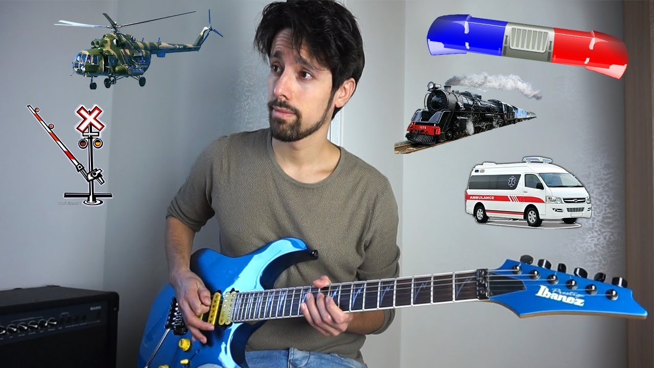 Distinct Sounds of the City Replicated on Electric Guitar