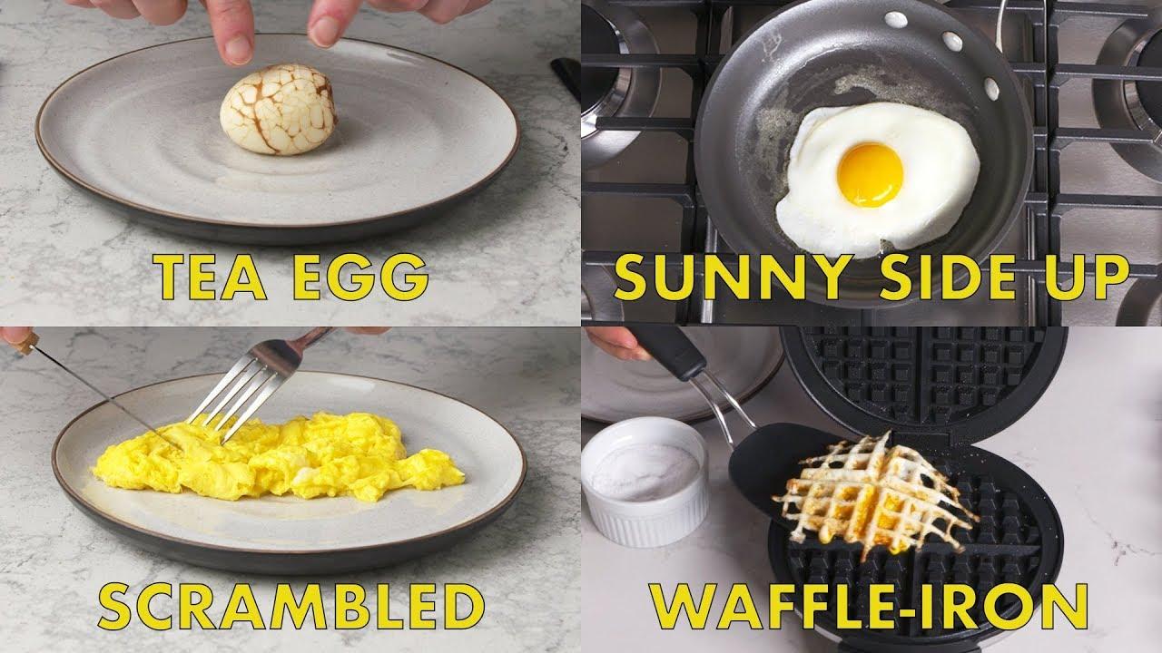 Food Expert Shares 59 Distinct Ways of Cook Eggs