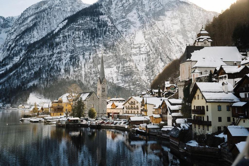 Hallstatt Johnny Harris Austria Alps