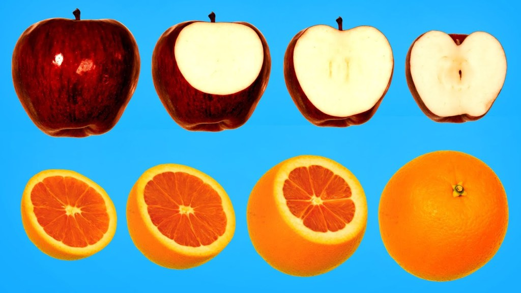 Hidden Patterns in Fruits and Vegetables