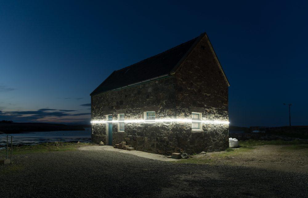 Interactive Light Installation High Tide Depth Outer Hebrides