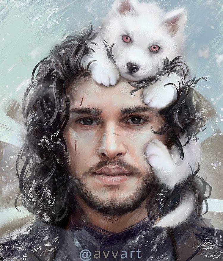 Jon Snow Ghost