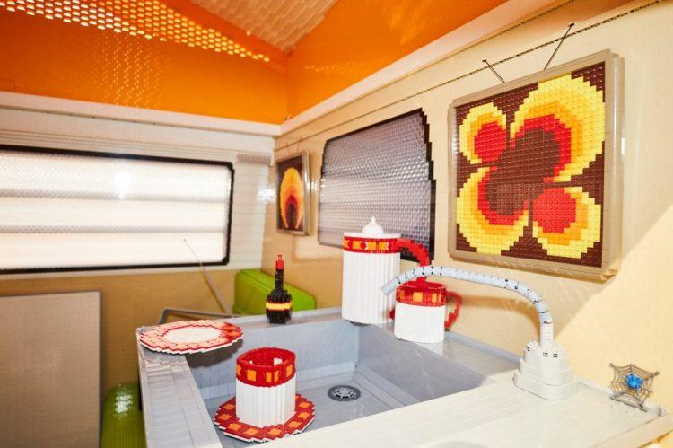 LEGO VW Camper Van Sink