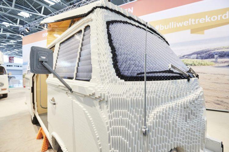 LEGO VW Camper Van Up Close