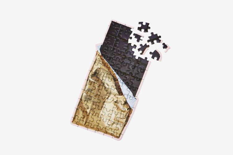 A Scrumptious Bite-Sized Chocolate Bar Mini-Puzzle