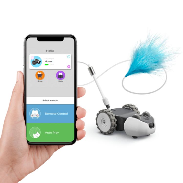 Mousr, An Adorable Autonomous Robotic Toy That Intelligently Learns