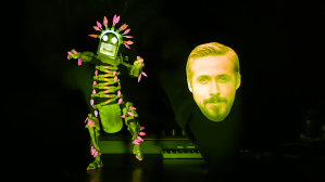 'NIGHTCALL' Creepy Face Puppet