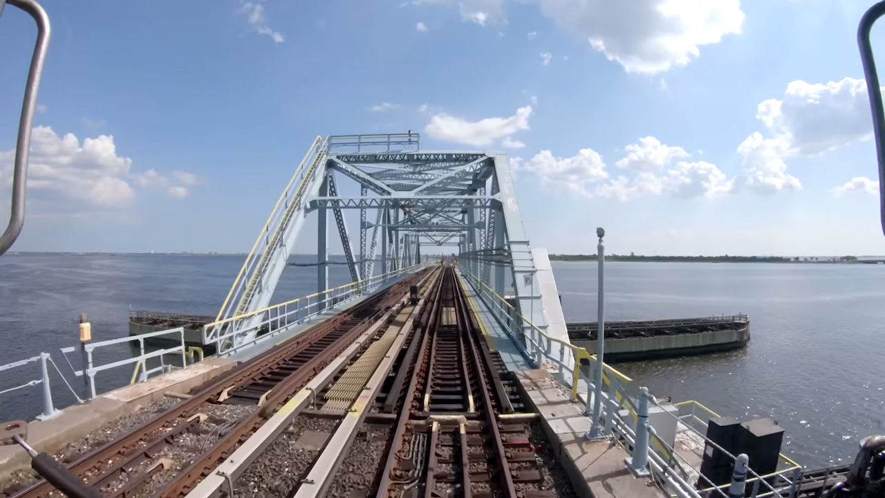 Hypnotic High Definition Footage of 100 Minutes on the A Train From Uptown Manhattan to a Queens Beach