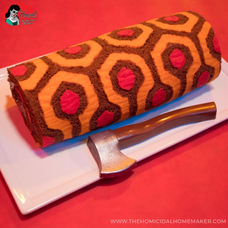 Redrum Roll Cake