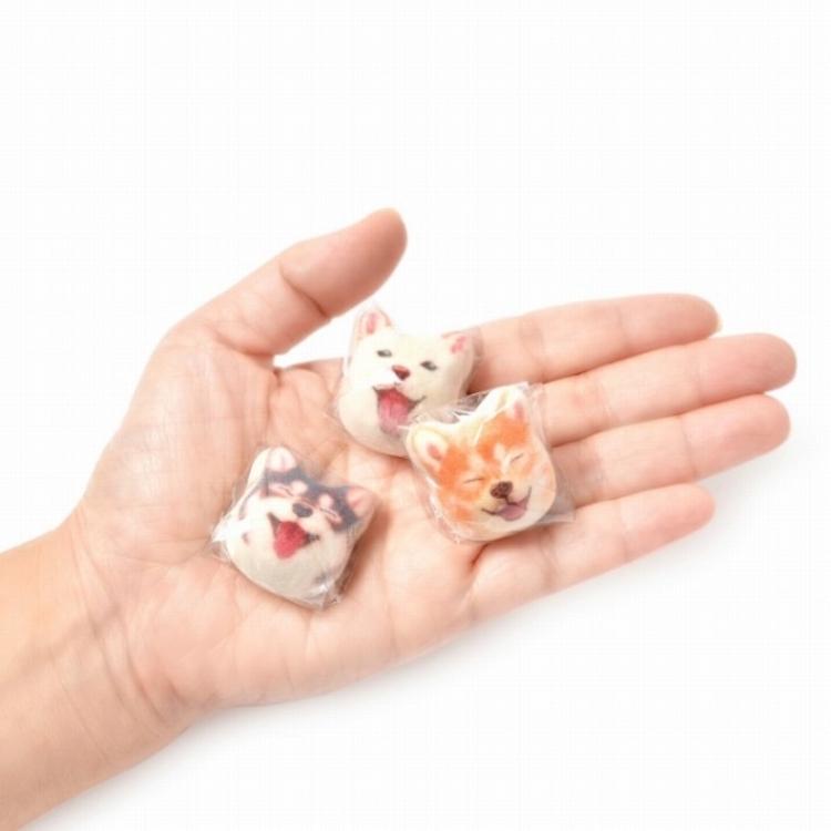 Shiba Inu Marshmallow Individually Wrapped
