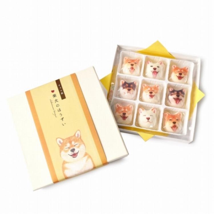 Shiba Inu Marshmallow Set