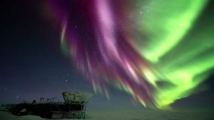 South Pole Aurora Australis Martin Heck