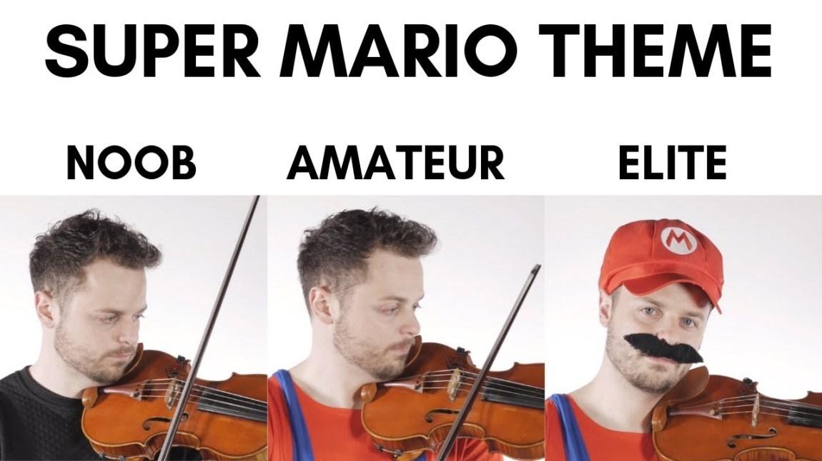 Super Mario Them Noob Elite