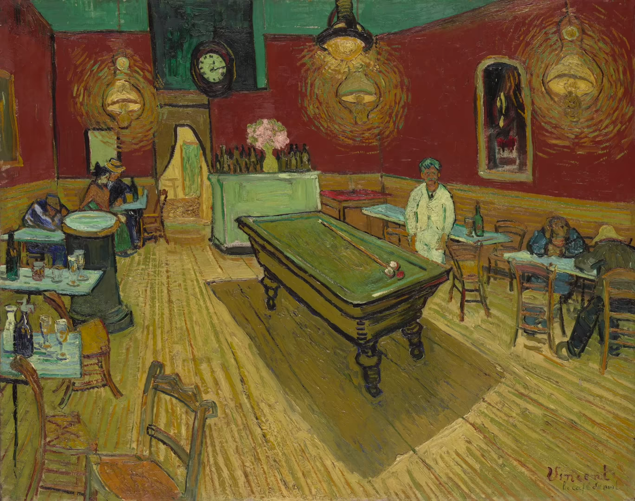 How Vincent Van Gogh Created Optical Anxiety With His Deliberate Use of Conflicting Color in 'Night Café'