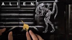 Alien Flipbook