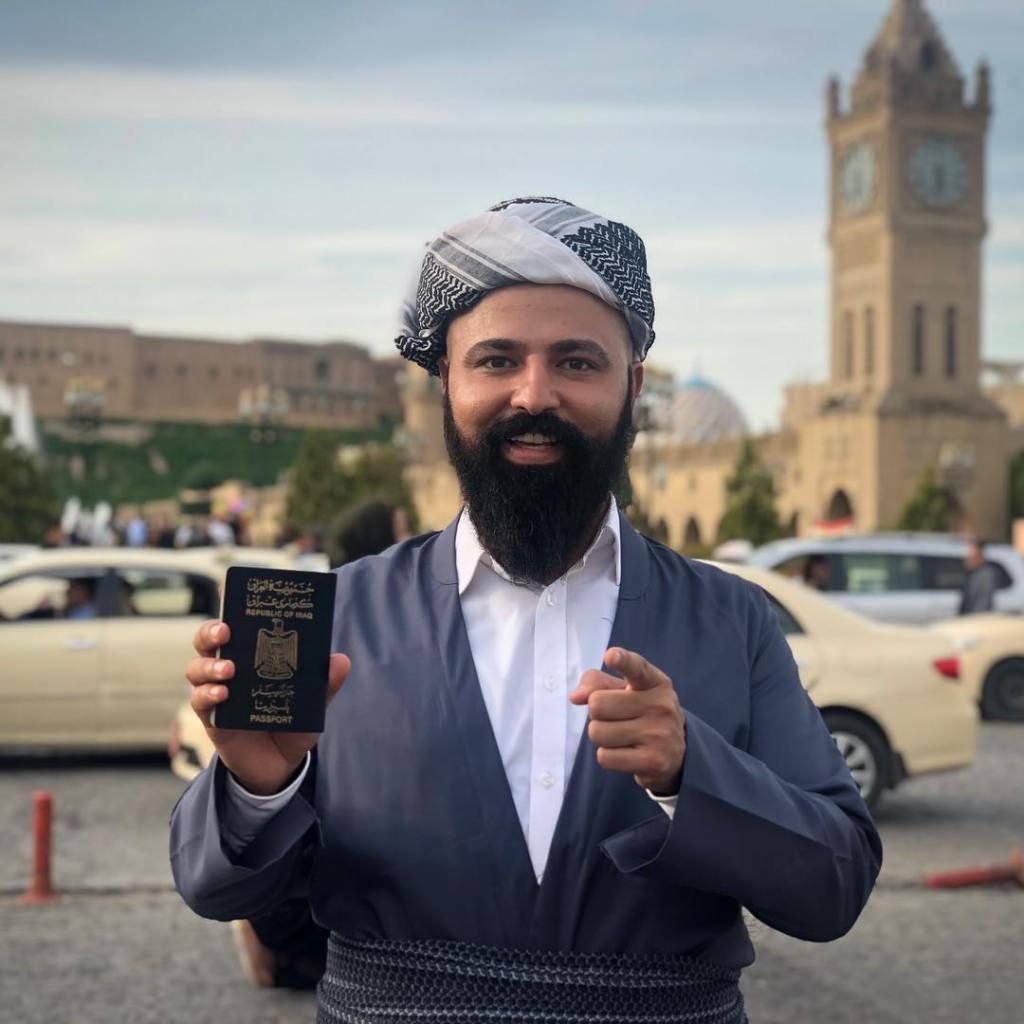 Baderkhan Amer Badran Iraqi Passport