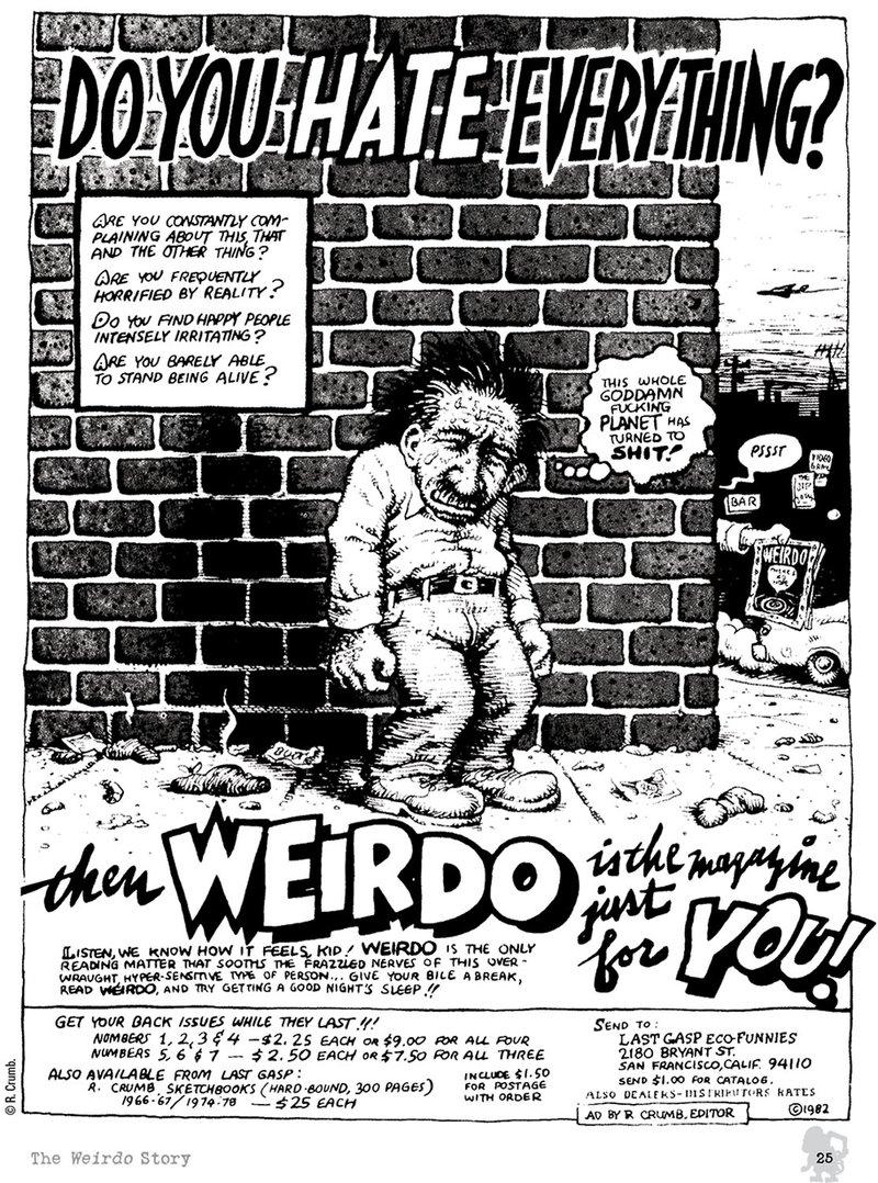 Book of Weirdo for you