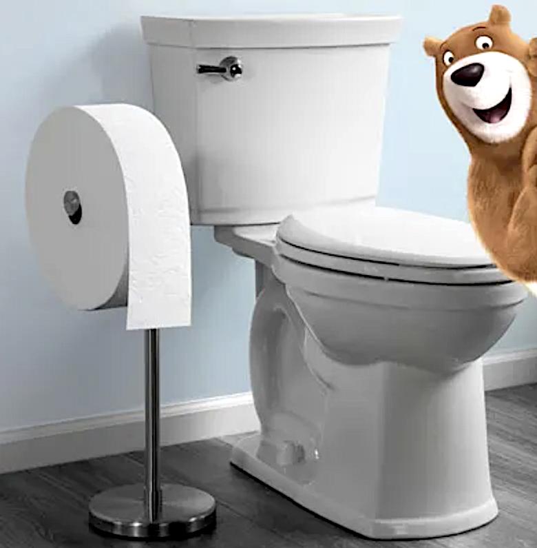 Charmin Forever Roll Bear