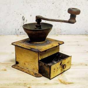 Dilapidated Coffee Grinder