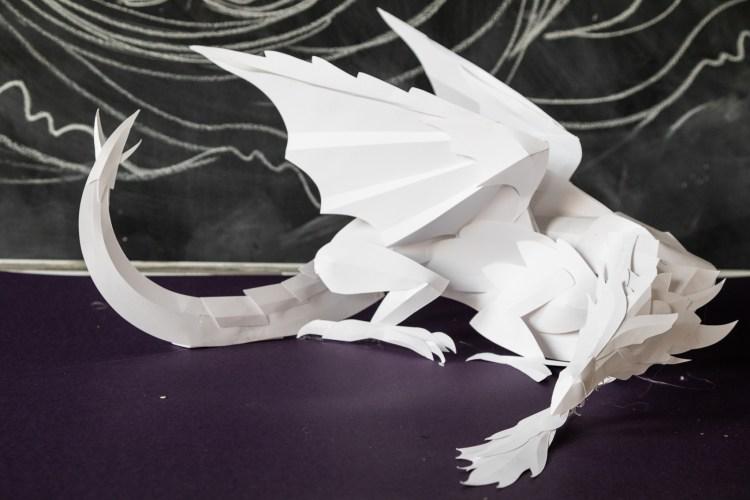 Dragon Scale Model