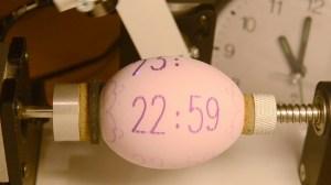 Egg Clock Eggbot