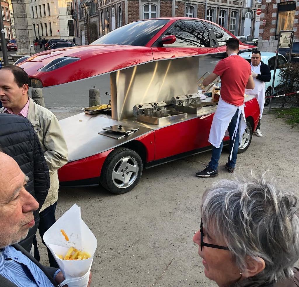 Fiat Coupe Mobile Chip Shop