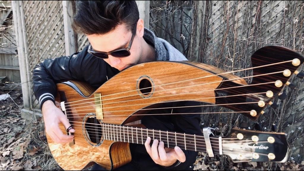 Goodbye Blue Sky Harp Guitar