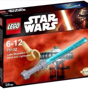 LEGO Luke Skywalker Hand Lightsaber