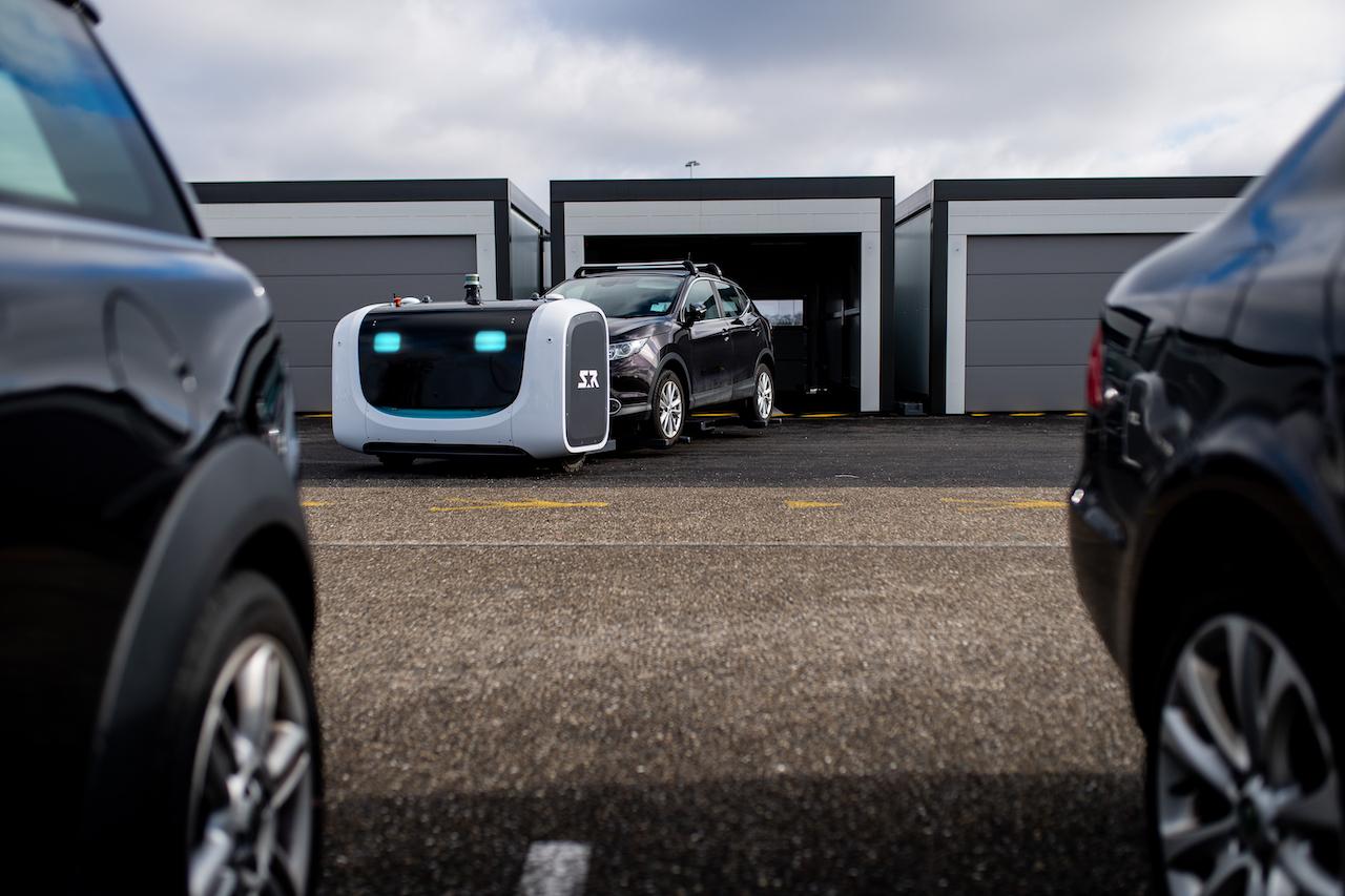 Lyon Airport Stanley Robotics Valet Robot