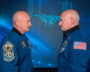 Mark and Scott Kelly Astronauts