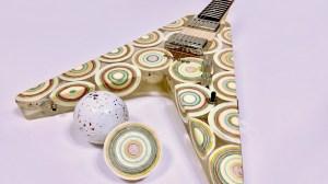 Mega Jaw Breaker Flying V Guitar