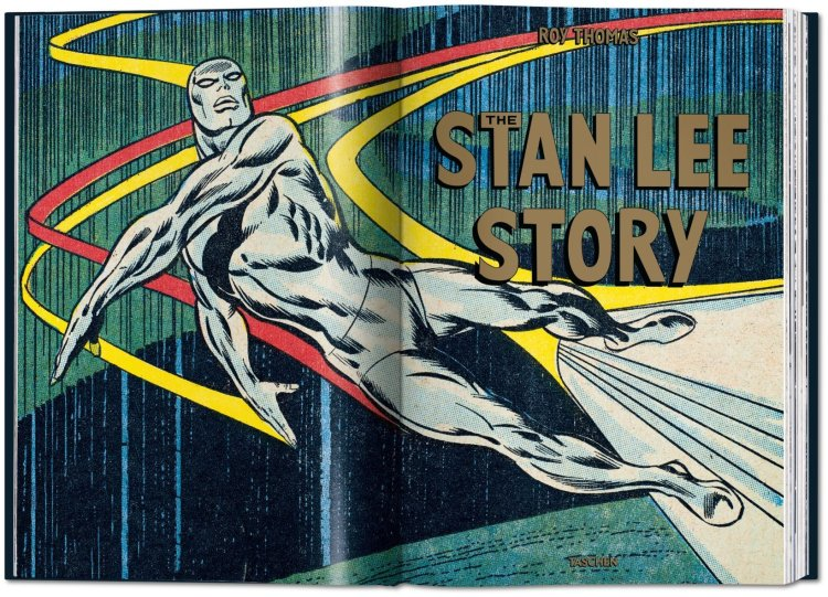 Stan Lee Story Graphic
