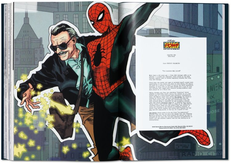Stan Lee Story Spiderman