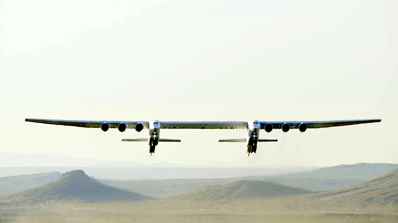 Paul Allen's Stratolaunch Successfully Completes First Flight as the World's Largest All-Composite Aircraft