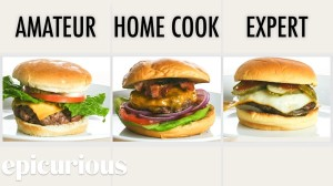 Three Levels of Cheeseburger