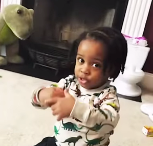 Three-Year-Old Adorably Explains Dinosaur Extinction