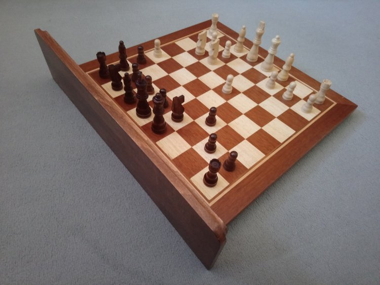 Chessboard Coat Hook Corner