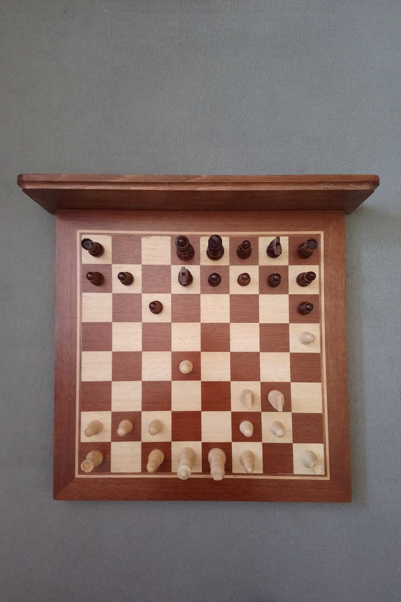 Chessboard Coat Hook