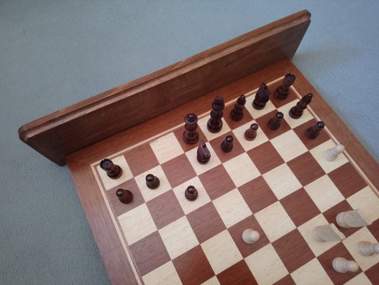 Chessboard Coat Hook Side