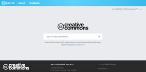 Creative Commons New Search