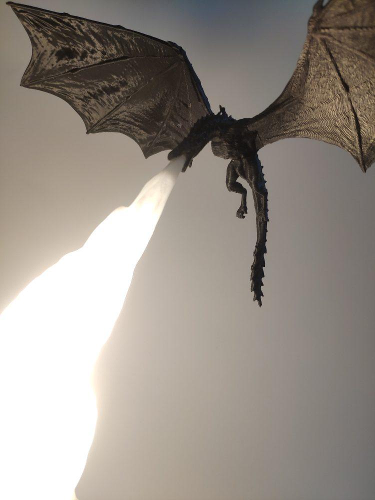 Dragon Fire GoT Lantern Side