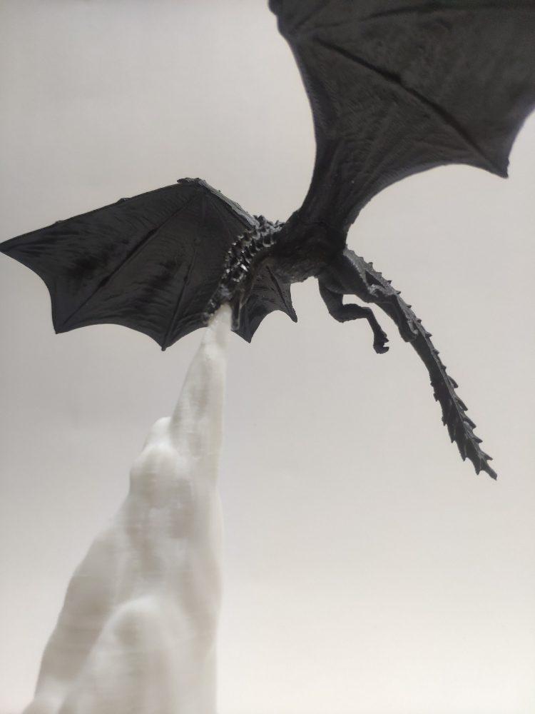 Dragon Ice GoT Lantern Side