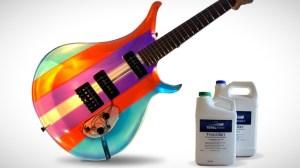 Epoxy Resin Translucent Guitar