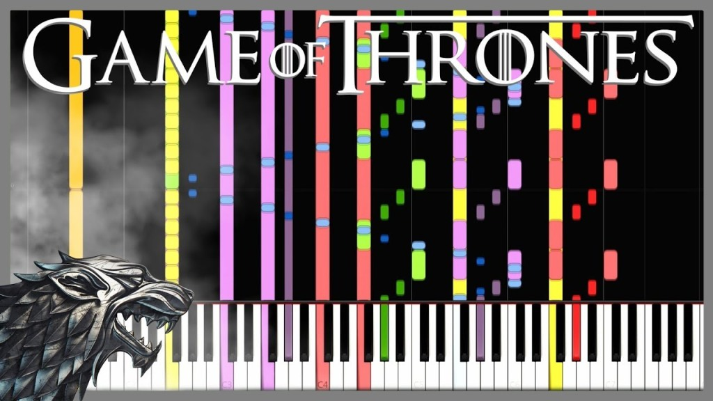 GoT MIDI Remix Synthesia