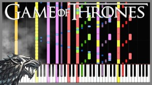 GoT MIDI Remix Synthesia